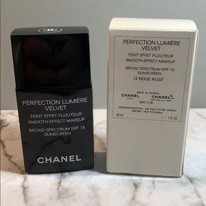 Chanel 12 Beige Rose Perfection Lumiere Velvet